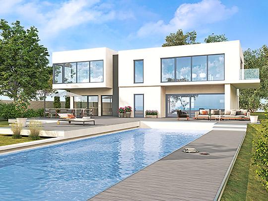 Elegantný dizajn pre moderné stavby